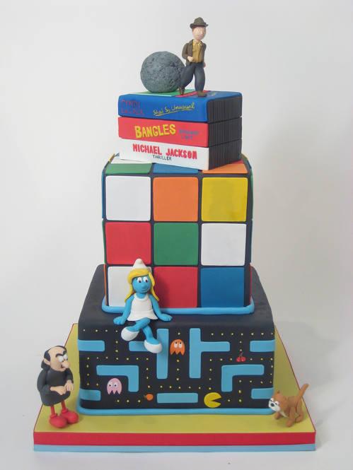 80s-Cake