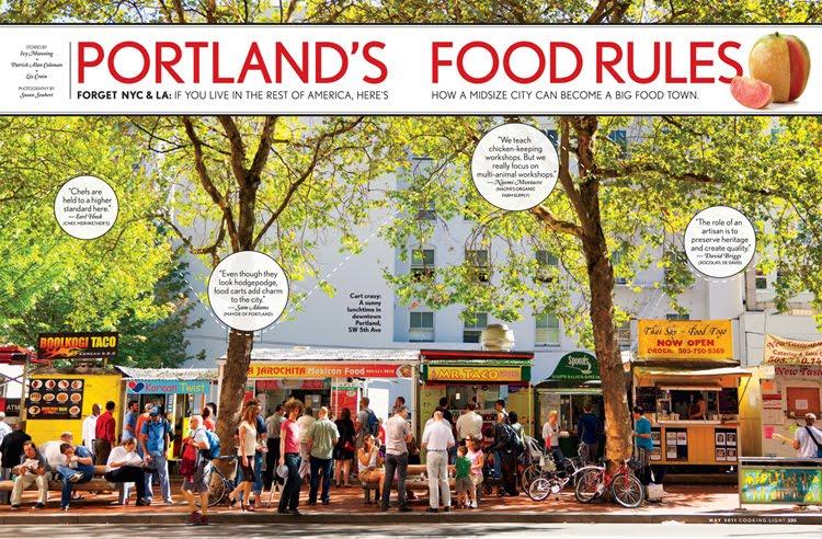 Food Cart Walking Tour Portland