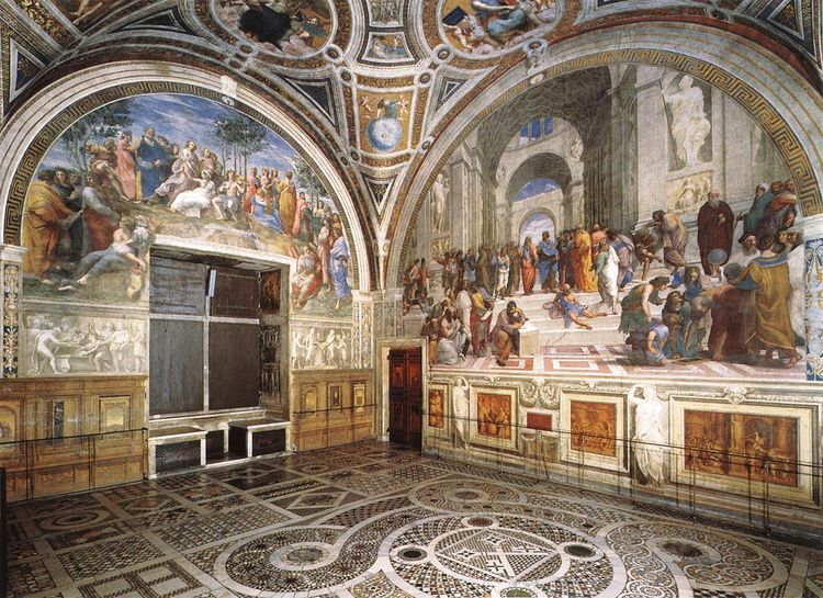 School of athens room